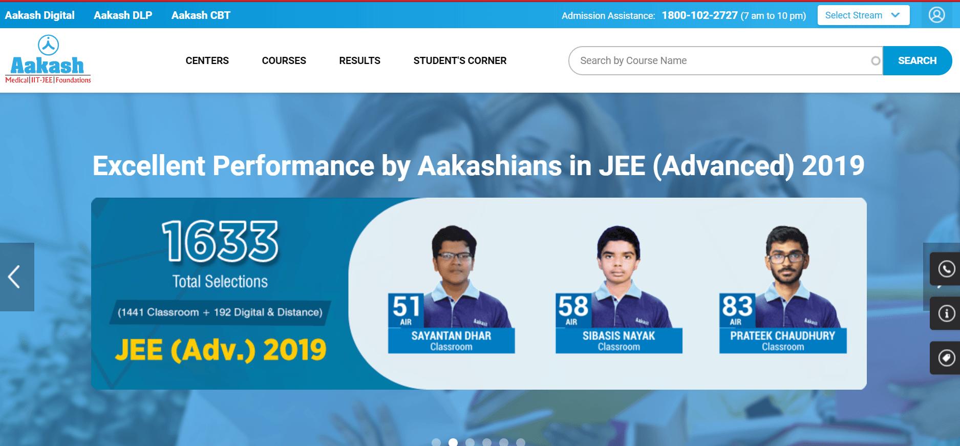 IIT-JEE Coaching Institutes in Kota [Aakash Institute Kota]