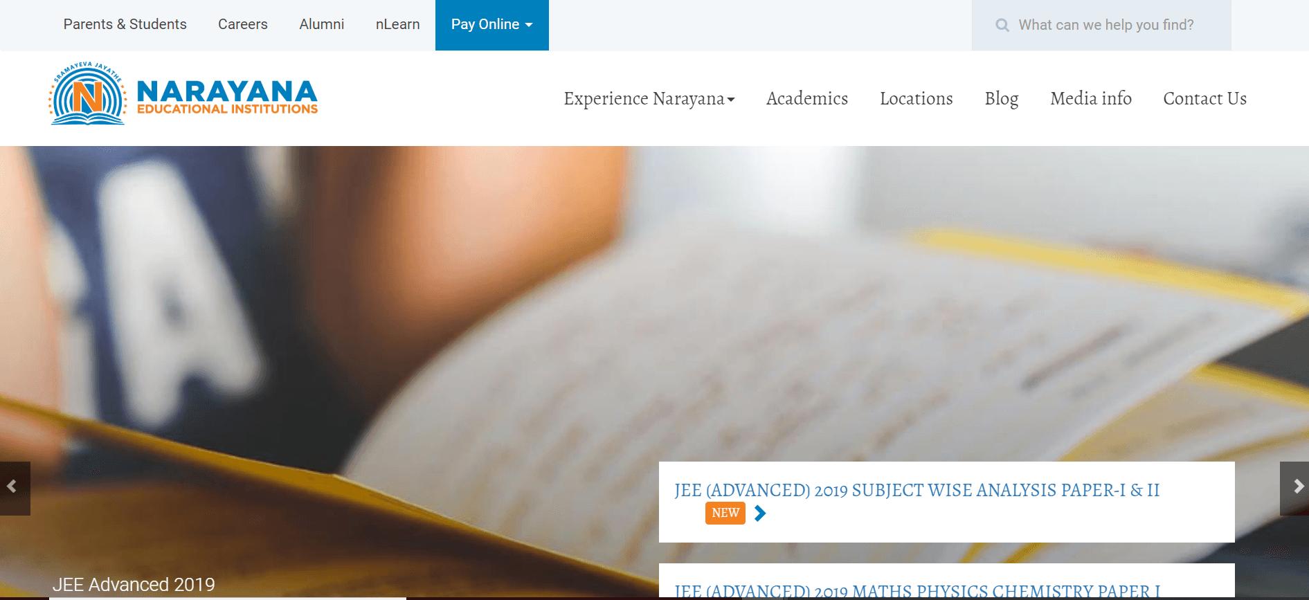 IIT-JEE Coaching Institutes in Kota [Narayana IIT Academy Kota]