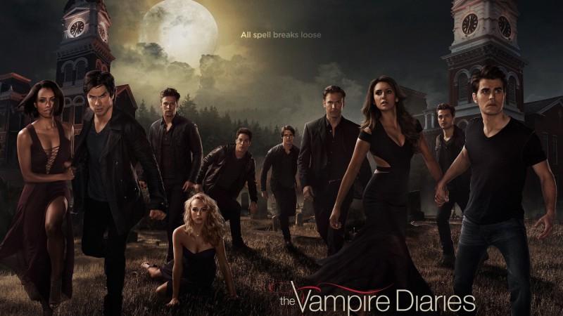 Scary series[vampire diaries]