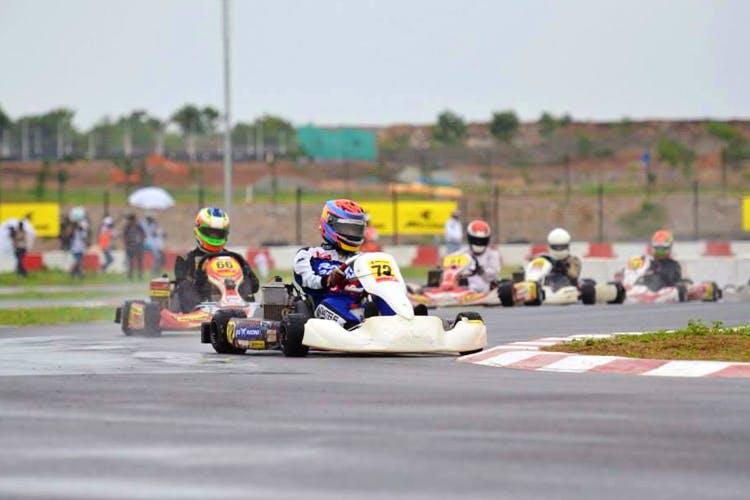 Go-Karting in Bangalore - Meco Kartopia
