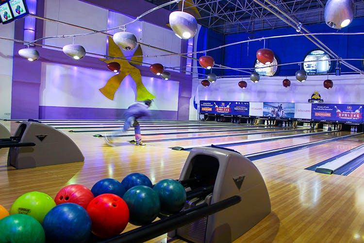 Best bowling alleys in Bangalore - Amoeba