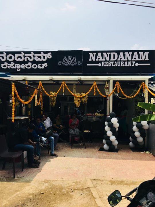 Restaurants in electronic city[Nandanam Restaurant]