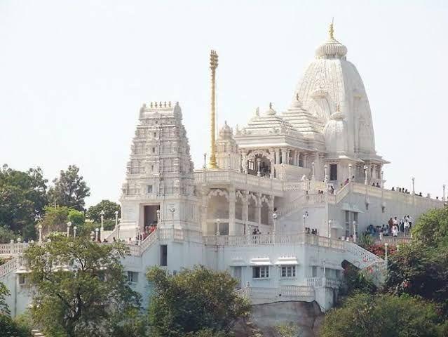 best places to visit in Hyderabad[Birla Mandir]