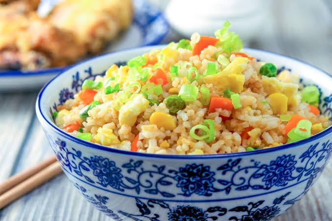 quarantine food [fried rice]
