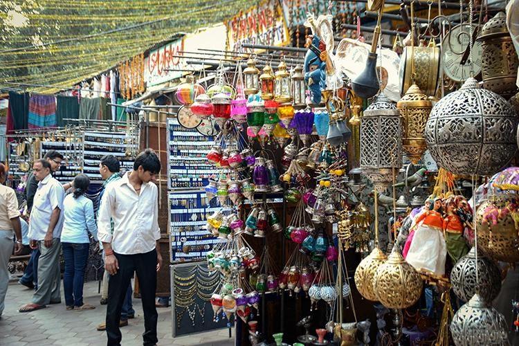 shooping markets in delhi